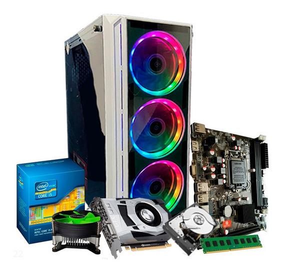 Cpu Gamer Intel I5, 8gb, 500gb, Geforce 4gb 1050 Gtx Ti