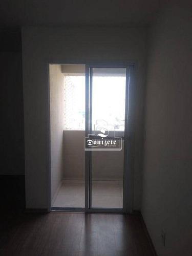 Imagem 1 de 23 de Apartamento Para Alugar, 52 M² Por R$ 1.600,00/mês - Casa Branca - Santo André/sp - Ap17270