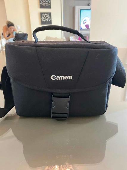 Câmera Cânon T6 Acompanha Três Lentes - Sendo Uma A 50mm -