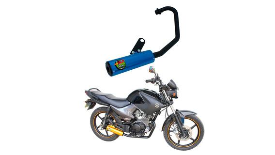 Escape Ybr 125 Factor 08/... Azul Mod. Rocket