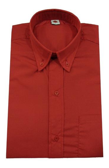 Camisas Lisa D/vestir Color/varios Motto Basic Casual Hombre