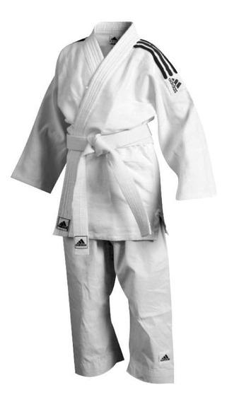 Uniforme Judo Con Cinturon adidas J350 (120 Cm)