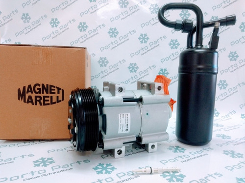 Imagem 1 de 5 de Compressor Ranger 3.0 Magneti Marelli + Filtro + Válvula