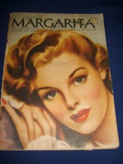 Revista Margarita De 1944 Para Coleccionistas