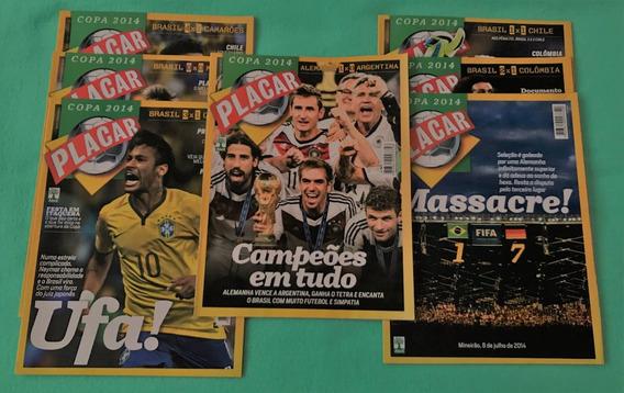 7 Revistas Placar Copa 2014 Jogos Seleção & Final