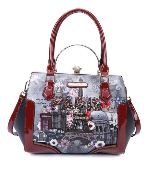 Cartera Nicole Lee Lmd15002 Paris In Fall