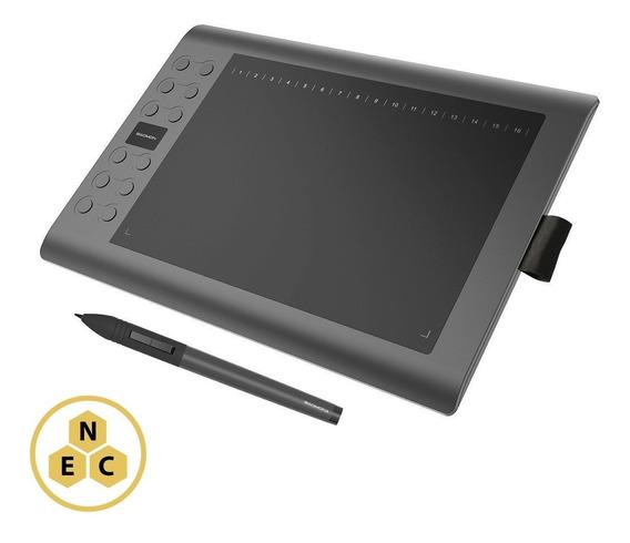 Mesa Digitalizadora Tablet Customizável Gaomon M106k 10