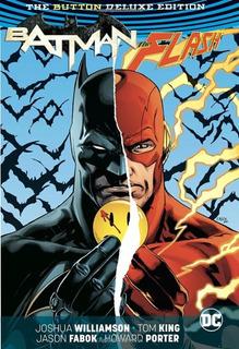 Hq - Batman The Flash: The Button Deluxe Edition