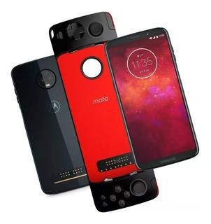 Motorola Moto Z3 Play 64gb Game Pad + Nf 1 Ano De Garantia