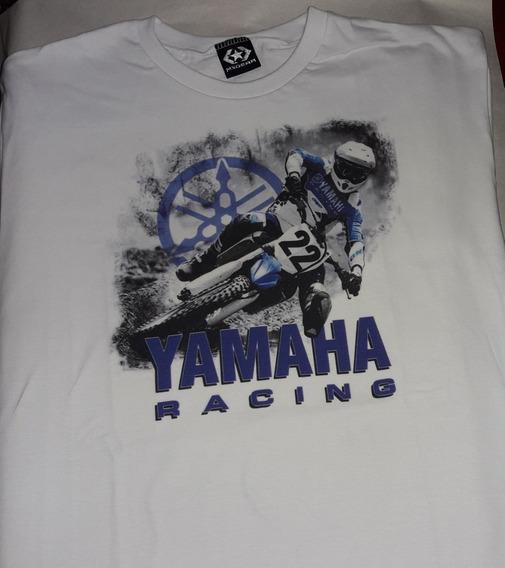 Remera Manga Corta Yamaha Motocross Yamaha Racing
