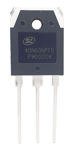 Transistor 40n60 40n60npfd 600v 40a To-3p