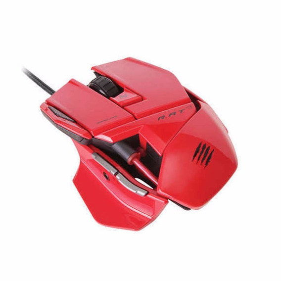Mouse Mad Catz R.a.t. 3 Red + Nfe