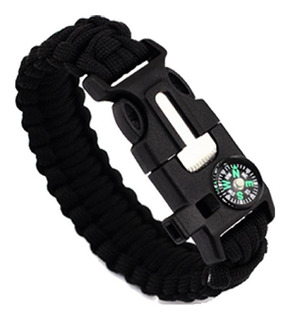 Pulsera Paracord Treking Y Escalada Supervivencia 5 En 1