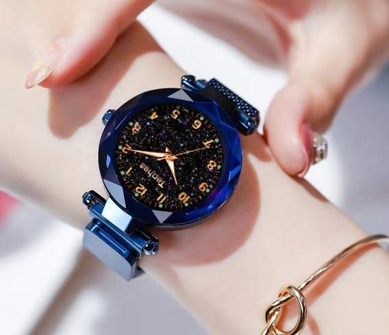 Relógio Feminino Pulseira Magnética - Tephea