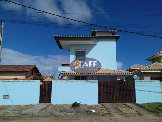 Casa Com 3 Dormitórios À Venda, 180 M² Por R$ 240.000 - Unamar - Cabo Frio/rj - Ca1276