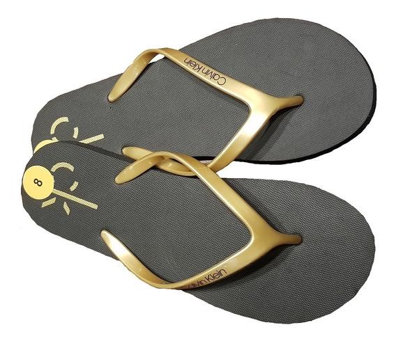 Calvin Klein Sandalias De Plástico Playa Baño Originales 24