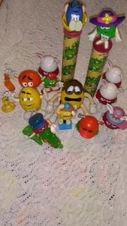 Muñecos Dispenser Publicidad M&m Coleccion Precio X Cada Uno