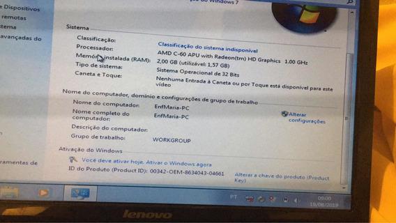 Notebook Lenovo 2gb