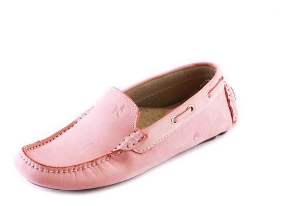 Zapatos Driver Mocasines Peskdores Rosado Drrol0055