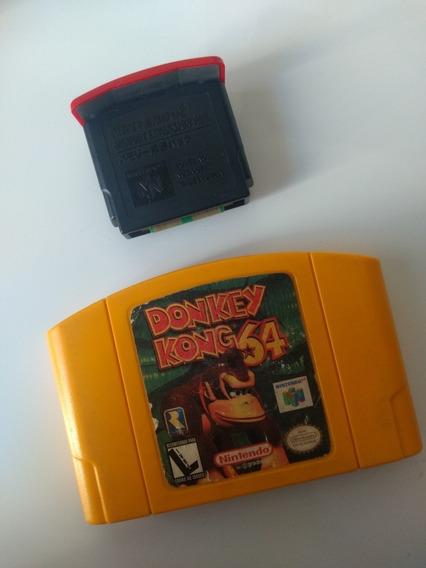 Jogo Donkey Kong 64 + Expansion Pak