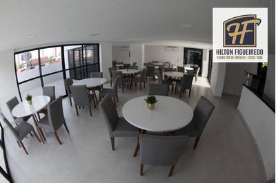 Apartamento Com 3 Dormitórios À Venda, 73 M² Por R$ 478.057 - Miramar - João Pessoa/pb - Ap5585