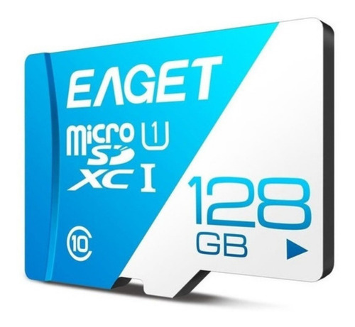 Imagen 1 de 10 de Memoria Micro Sd 128gb De 100m Mb/s Eaget Mod Xc