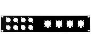 Penn-elcom R1273 2uk Panel De Rack Para Ep Xlr
