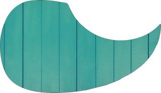 Escudo Palheteira Resinada Violão Green Fence