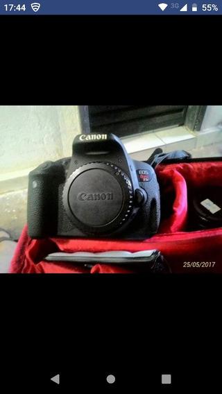 Camera Canon T5i, Completa, Com Acessórios.