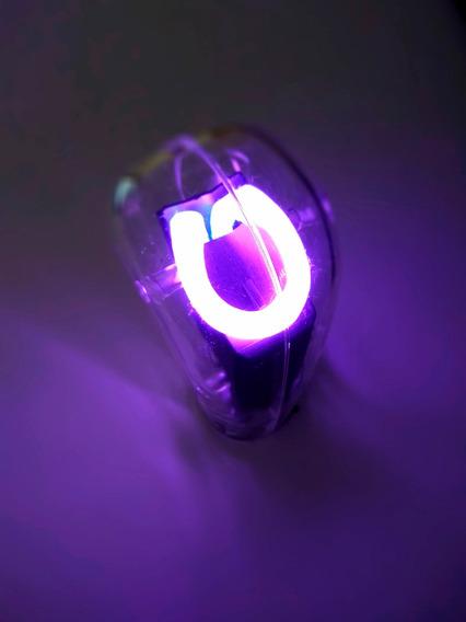 Perilla Pomo Palanca De Velocidades Universal Con Luz Neon