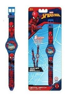Reloj Digital 5 Func Spiderman