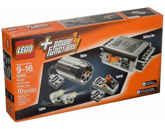 Lego 8293 - Power Function Motor Set / Motor Farol -10 Peças