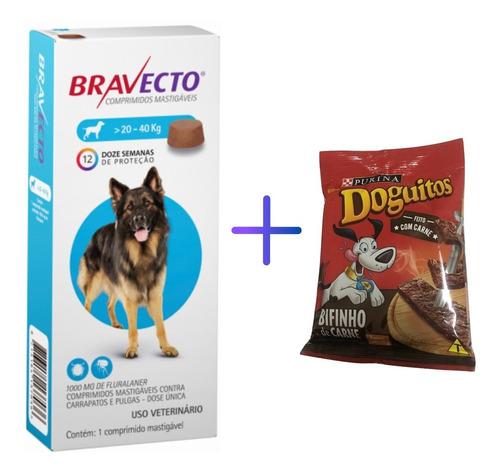 Bravecto Antipulgas Akita Para Cães De 20 A 40 Kg - Msd