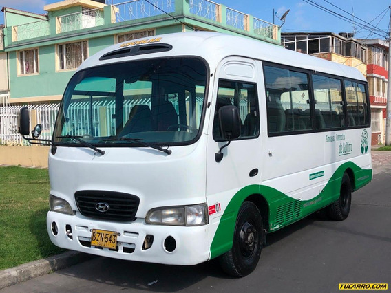 Autobuses Microbuses Hyundai Country