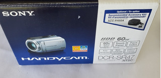 Camara De Video Filmadora Sony Handycam Dcr-sr47 60gb