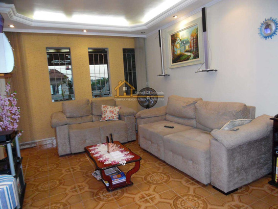 Excelente Sobrado 3 Dorm , Suite, Bairro Assunção, Sbc - 160m² - V138