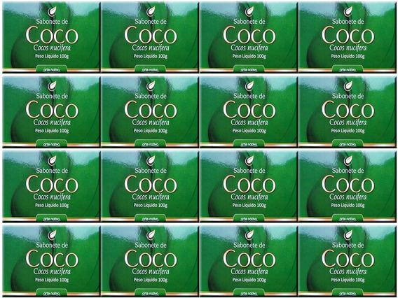 Kit Com 12 Sabonetes De Coco Nucifera 100g - Arte Nativa