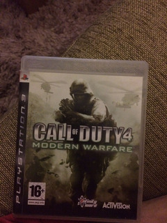 Call Of Duty 4 Modern Warfare Ps3 (en Cd)