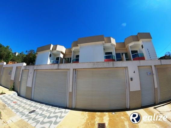 Casa Duplex Nova De Fino Acabamento No Bairro Perocão Em Guarapari - Ca00006 - 33548092