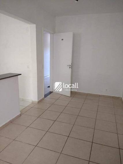 Apartamento Com 3 Dormitórios Para Alugar, 80 M² Por R$ 850/mês - Jardim Bosque Das Vivendas - São José Do Rio Preto/sp - Ap1957