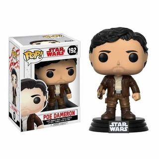 Funko Pop Poe Dameron 192 Star Wars Ep 8 The Last Jedi Baloo