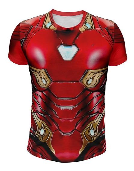 Remera Iron Man Infinity War X7