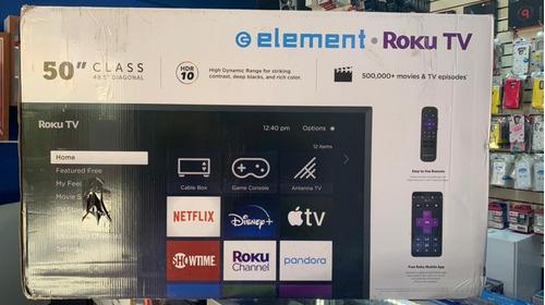 Smart Tv Element 50 Pulgadas 4k Ultra Hd , Hdr