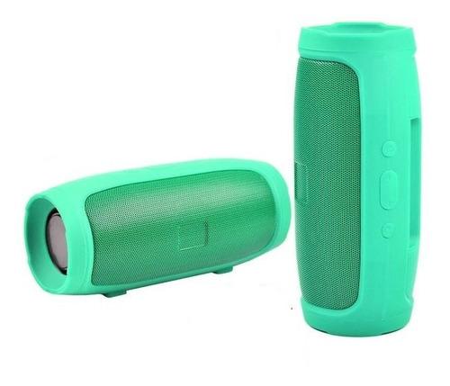 Caixa De Som Portátil Com Bluetooth 6w Tg Mini 3+ Verde