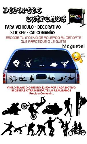 Sticker, Calcomanías, Auto Adhesivo Para Carros O Motos