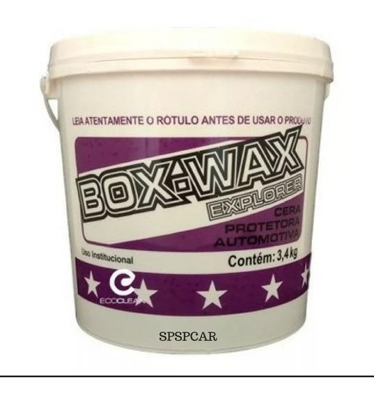 Cera Protetora Box Wax Explorer 3,4kg