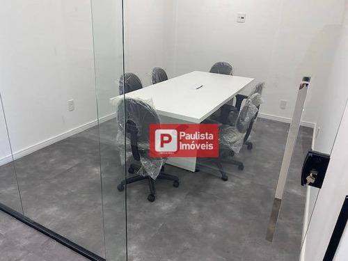 Conjunto Para Alugar, 75 M² Por R$ 6.200,00/mês - Brooklin - São Paulo/sp - Cj1748