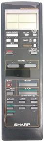 Cr-1940 Controle Remoto P/ Video K7 Vc794 Sharp