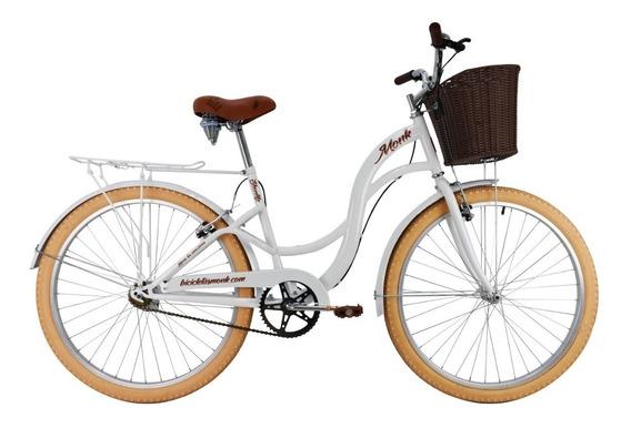 Bicicleta Monk Shon Urbana Rodada 26 1 Velocidades