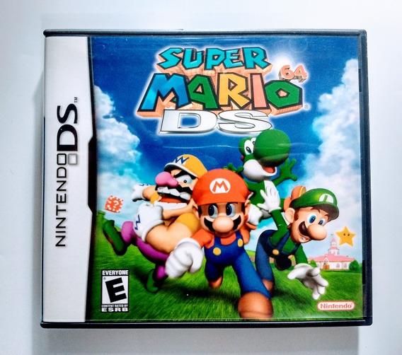 Super Mario 64 Ds / 3ds - Americana Impecável !!